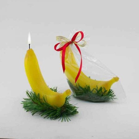 Новогодний подарок банан